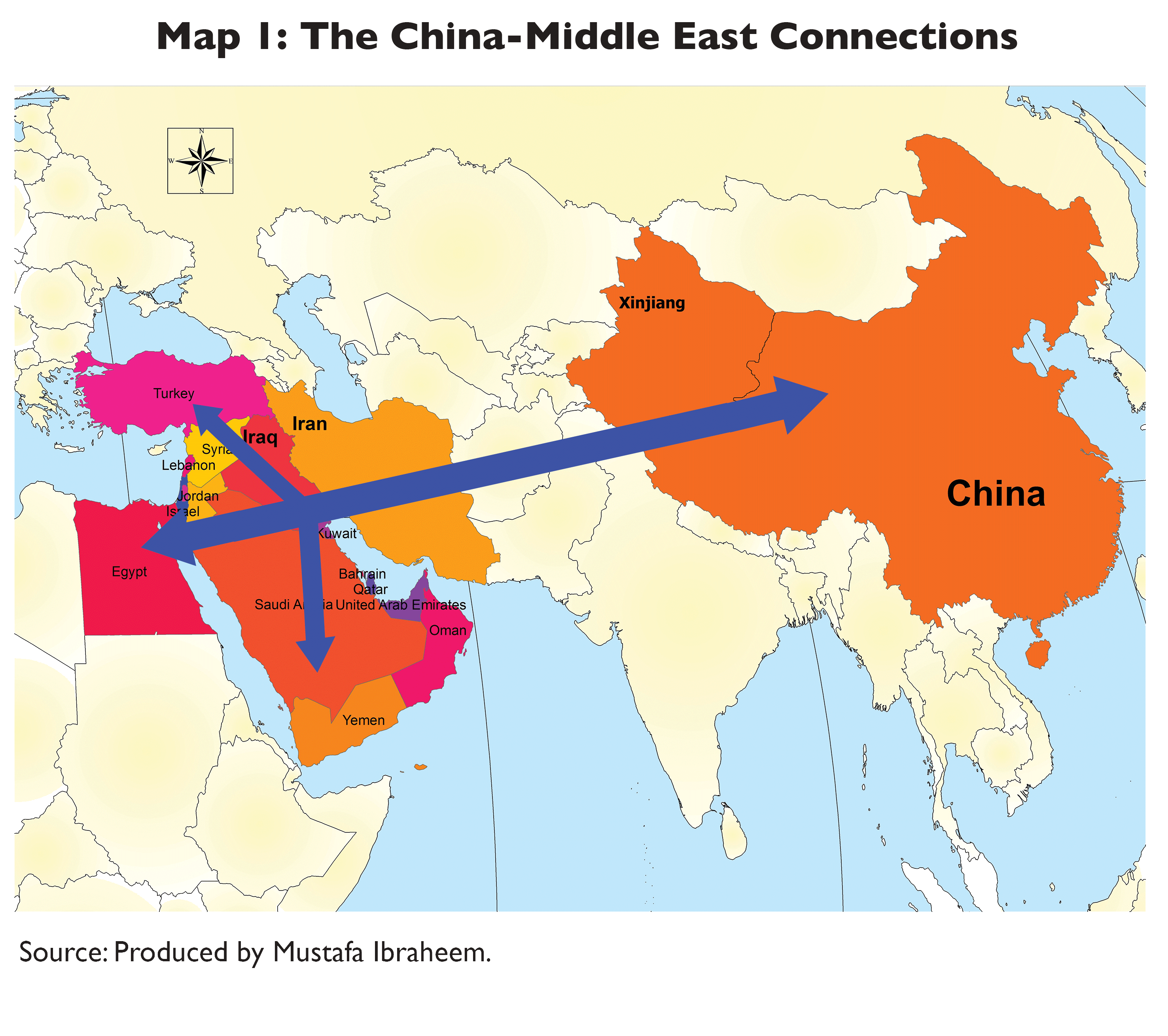 China and the middle east more than oil all china review one is that chinas global rise and power must be understood regionally and locally the other is to see chinas distinctive footprints in the middle east gumiabroncs Choice Image
